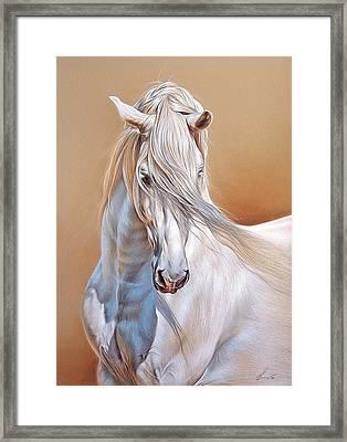 Andalusian Framed Print by Elena Kolotusha