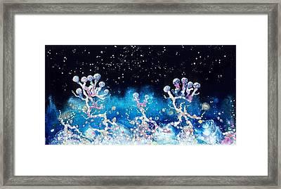 Andromeda Starflowers Framed Print by Lee Pantas