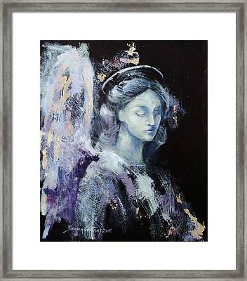 Angel 2 Framed Print by Dorina Costras