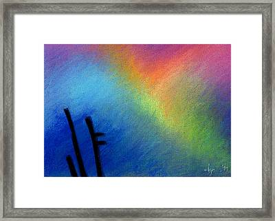 Angel Afternoon Framed Print by Angela Treat Lyon