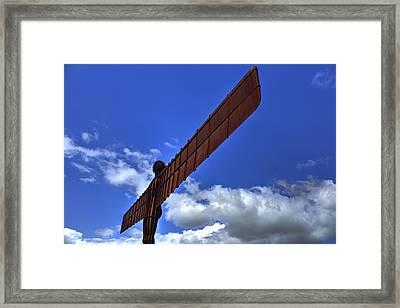 Angel Framed Print by Chris Whittle