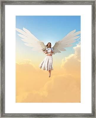 Angel Framed Print by Christian Art