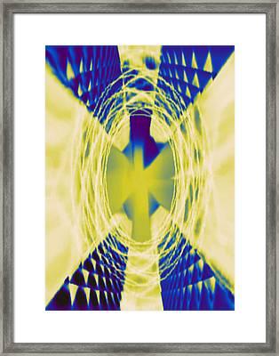Angel Framed Print by DB Artist