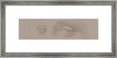 Angel Eyes Framed Print by Stevie the floating artist