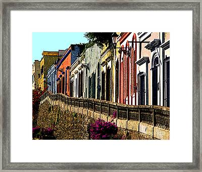 Angel Flores By Darian Day Framed Print by Mexicolors Art Photography