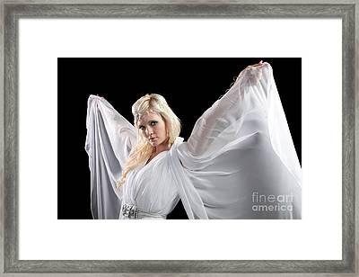 Angel Goddess Framed Print by Cindy Singleton