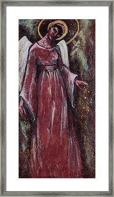 Angel Judy Framed Print by Mary DuCharme