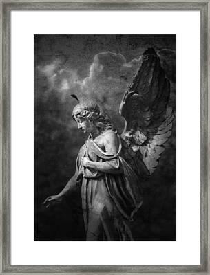 Angel Framed Print by Marc Huebner