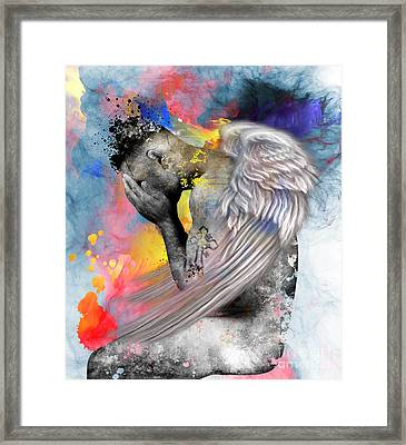 Angel  Framed Print by Mark Ashkenazi