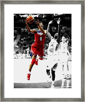 Angel Mccoughtry Framed Print by Brian Reaves