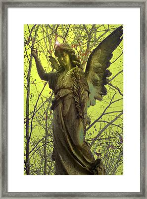 Angel Of Bless No. 01 Framed Print by Ramon Labusch