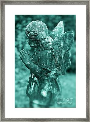 Angel Prayer Framed Print by John Greim