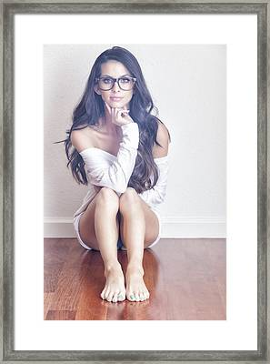 #angela Framed Print by ItzKirb Photography