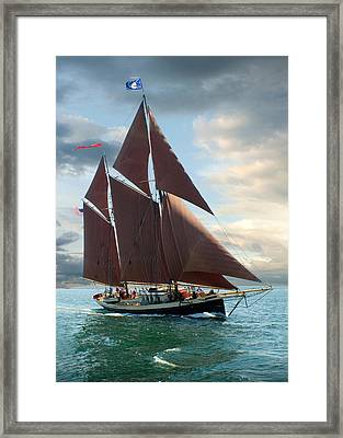 Angelique Framed Print by Fred LeBlanc