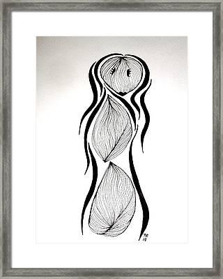 Angelique Garleek Cloves Framed Print by Beth Akerman