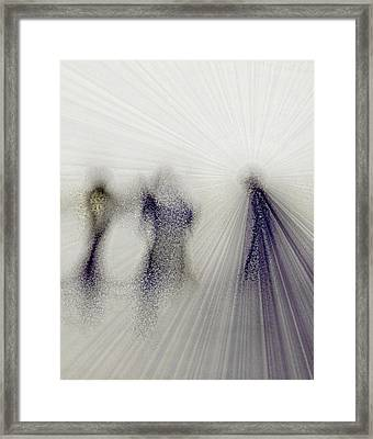 Angels Among Us Framed Print by Rose  Hill