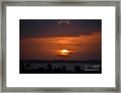 Angel's Head Sunset Framed Print by Rene Triay Photography