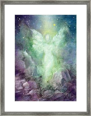 Angels Journey Framed Print by Marina Petro