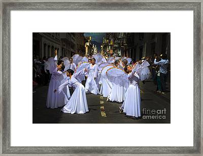 Angels Of The Morning Framed Print by Al Bourassa