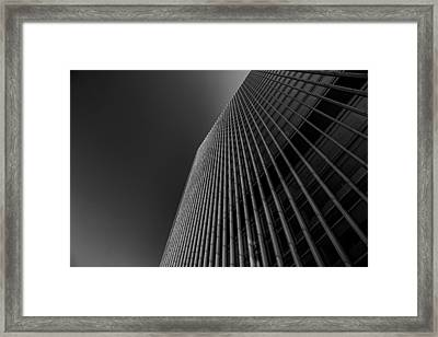 Angles Framed Print by Martin Newman