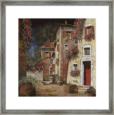 Angolo Buio Framed Print by Guido Borelli