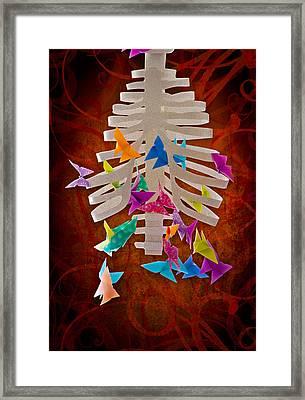 Angst  Framed Print by Maggie Terlecki