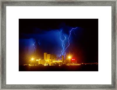 Anheuser-busch On Strikes Framed Print by James BO  Insogna