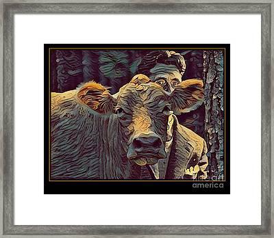Animal Charm No. 1 Framed Print by Geordie Gardiner