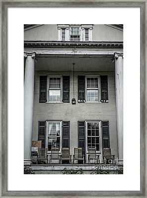 Animal House Framed Print by Edward Fielding