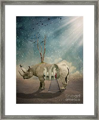 Animal House Framed Print by Juli Scalzi