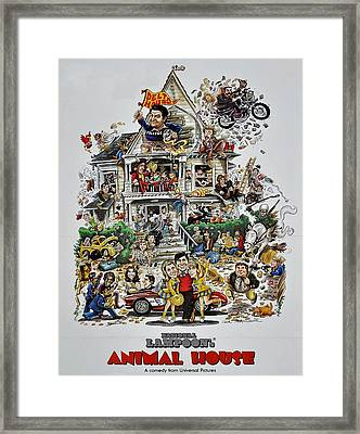 Animal House  Framed Print by Movie Poster Prints
