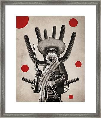 Animal10 Framed Print by Francois Brumas