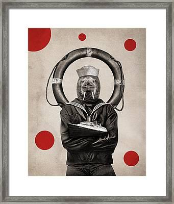 Animal15 Framed Print by Francois Brumas