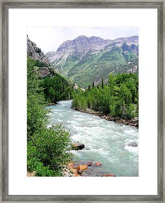Animas Framed Print by Peter  McIntosh
