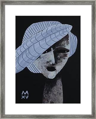 Animus No 101 Framed Print by Mark M Mellon