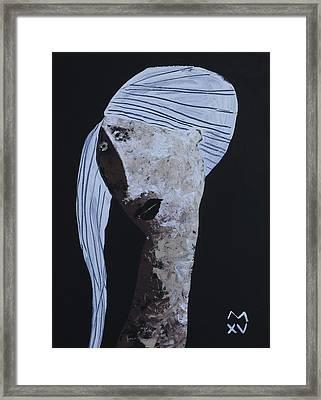 Animus No 99 Framed Print by Mark M  Mellon