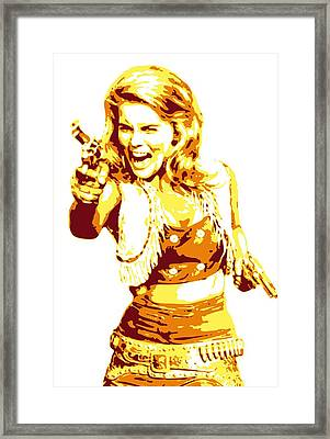 Ann Margret Framed Print by DB Artist