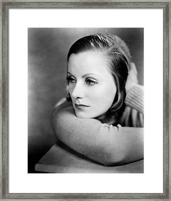 Anna Christie, Greta Garbo, 1930 Framed Print by Everett