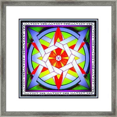 Annette Wald Framed Print by Ahonu