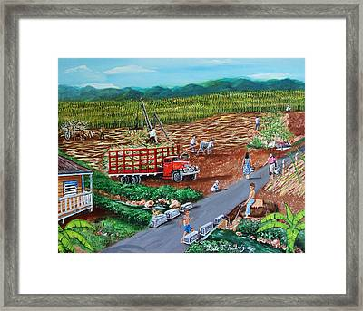 Anoranzas Framed Print by Luis F Rodriguez