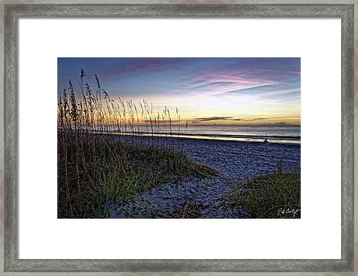 Another Beach Morning Framed Print by Phill Doherty