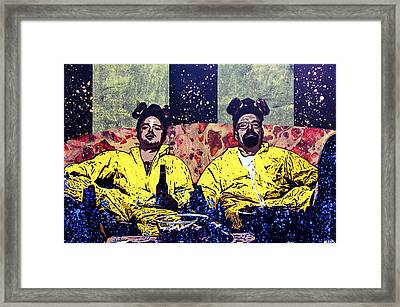 Another Day At The Office Framed Print by Bobby Zeik
