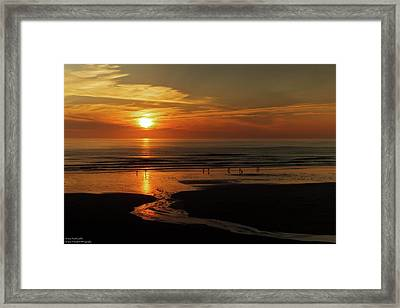Another Fine Oregon Sunset  Framed Print by Hany Jadaa Prince John Photography