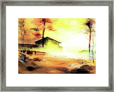 Another Good Morning Framed Print by Anil Nene