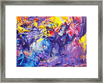 Another New York State Of Mind Framed Print by Bruce Combs - REACH BEYOND