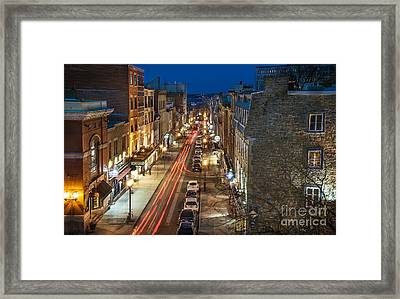 Another Night Framed Print by Audrey Wilkie