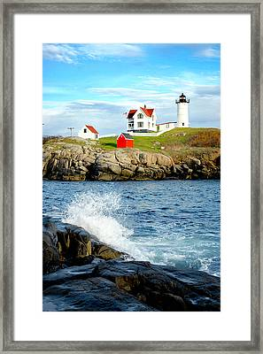 Another Nubble Framed Print by Greg Fortier