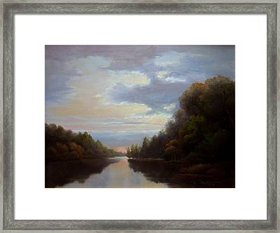 Another Passage Framed Print by Kevin Palfreyman