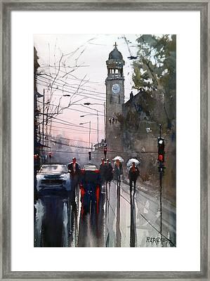 Another Rainy Day Framed Print by Ryan Radke