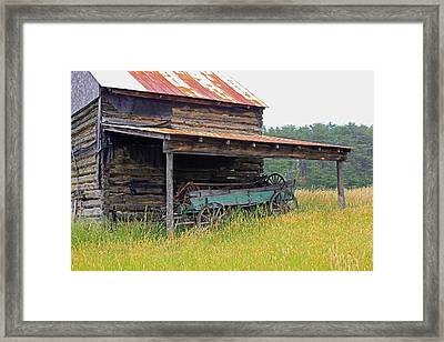 Another Time II Framed Print by Suzanne Gaff